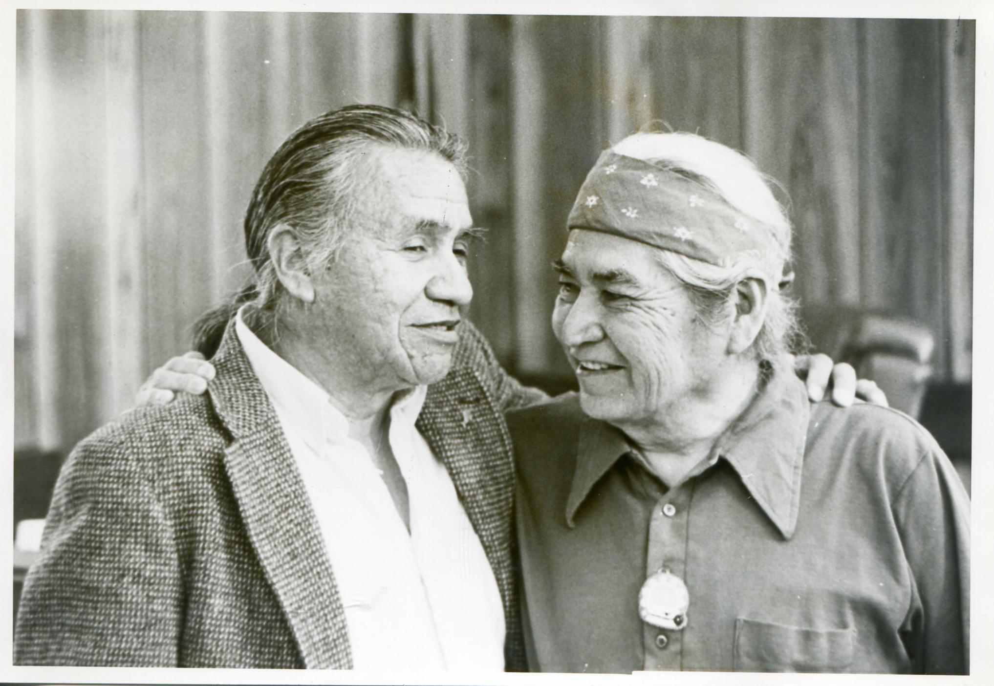 Billy Frank Jr and David Sohappy in Yakama Tribal Court